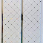 Потолочная панель Софитто серебро Ромб ПВХ