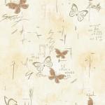 Бабочки оранжевые ПВХ