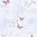 Бабочки серебро ПВХ