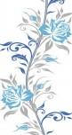Синий пион ПВХ