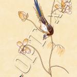Райские птицы ПВХ