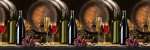 Кухонный фартук Вино (ABC пластик)
