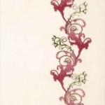 Декор Мрия бордовый  25х35 см