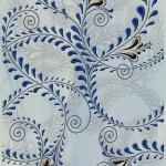 Декор Елена каприз синий 20×30