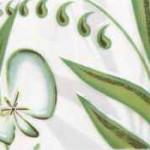 Фриз Нарцисс лето салатный  20×7 см