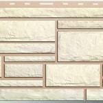 Панель «Камень» Белый (0,53 кв.м)