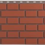 Панель «Кирпич клинкерный» Красный (0,53 кв.м)