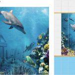 Подводный мир ПВХ