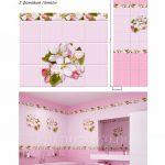 Яблоневый цвет розовый ПВХ