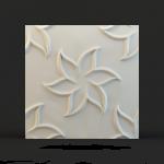 Панель 3D Лилии РГБ