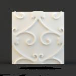 Панель 3D Золотой Дамаск