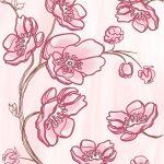 Агата розовая Вставка Узоры